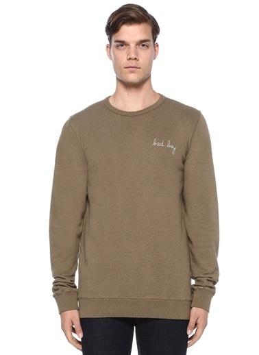 Maison Sweatshirt Yeşil